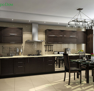 Дизайн трехкомнатной квартиры 114 кв. м в африканском стиле. Фото проекта