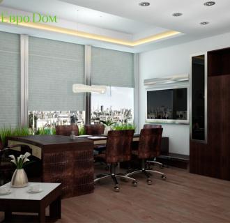 Дизайн однокомнатной квартиры 47 кв. м в современном стиле. Фото проекта