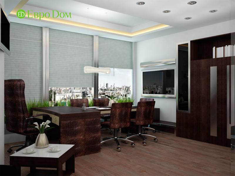 Дизайн 1-комнатной квартиры в современном стиле. Фото 02