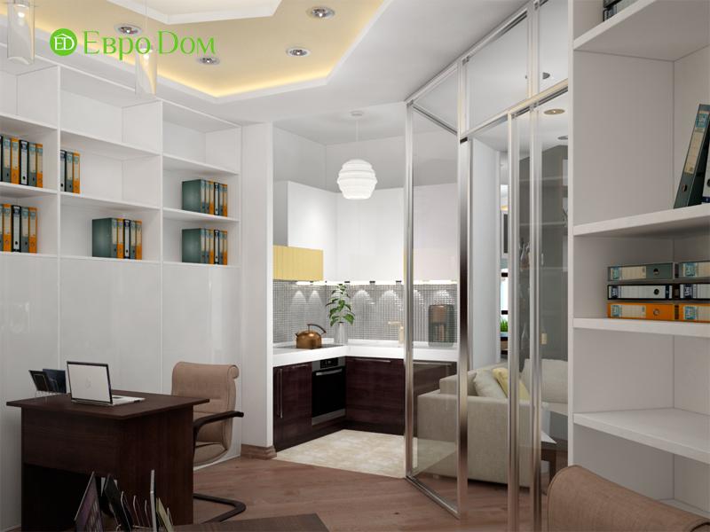 Дизайн 1-комнатной квартиры в современном стиле. Фото 03