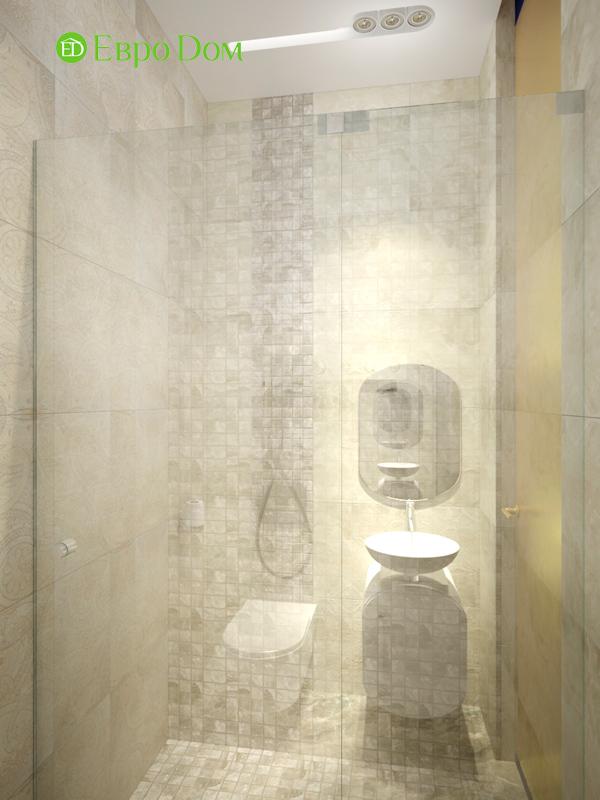 Дизайн 1-комнатной квартиры в современном стиле. Фото 06