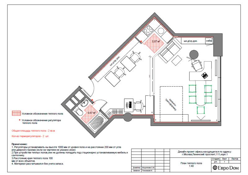 Дизайн 1-комнатной квартиры в современном стиле. Фото 021
