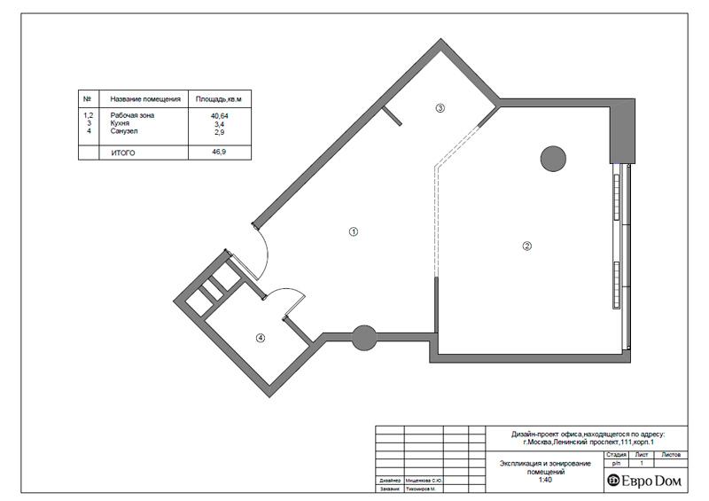 Дизайн 1-комнатной квартиры в современном стиле. Фото 024