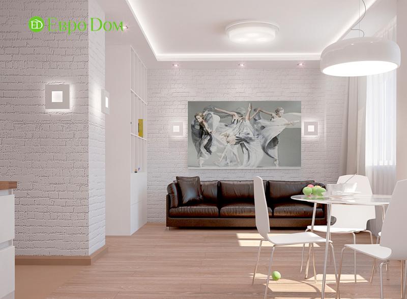 Стиль лофт в дизайне гостиной