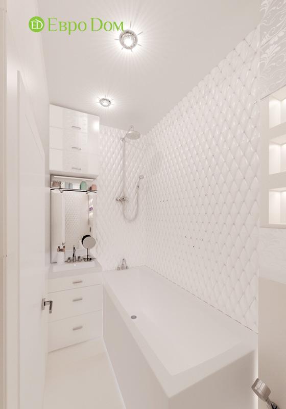 Дизайн 2-комнатной квартиры в современном стиле. Фото 011