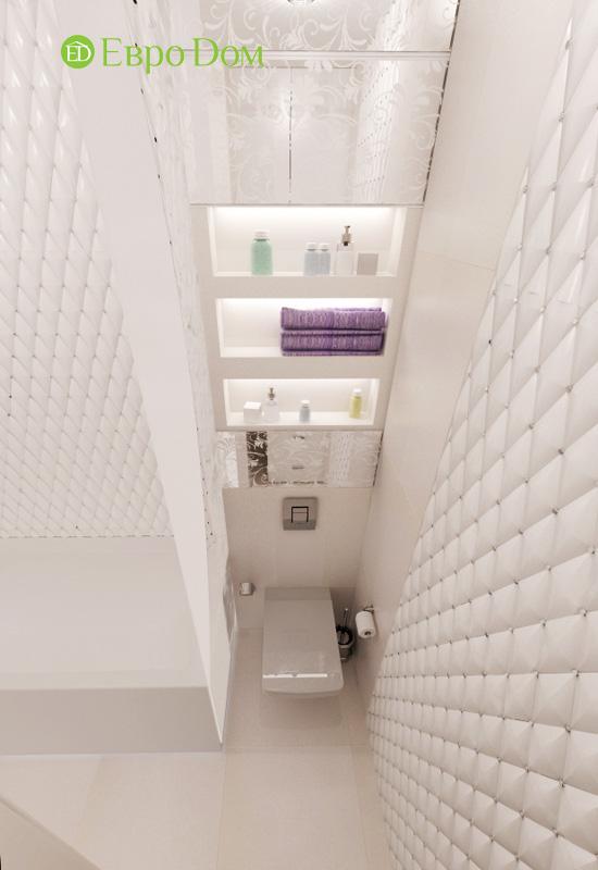 Дизайн 2-комнатной квартиры в современном стиле. Фото 012