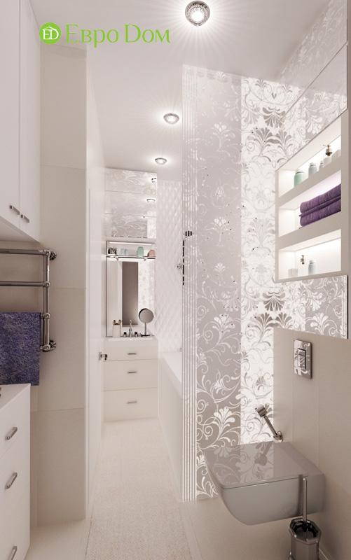 Дизайн 2-комнатной квартиры в современном стиле. Фото 013