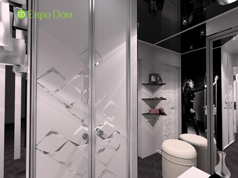 Дизайн 2-комнатной квартиры в современном стиле. Фото 017