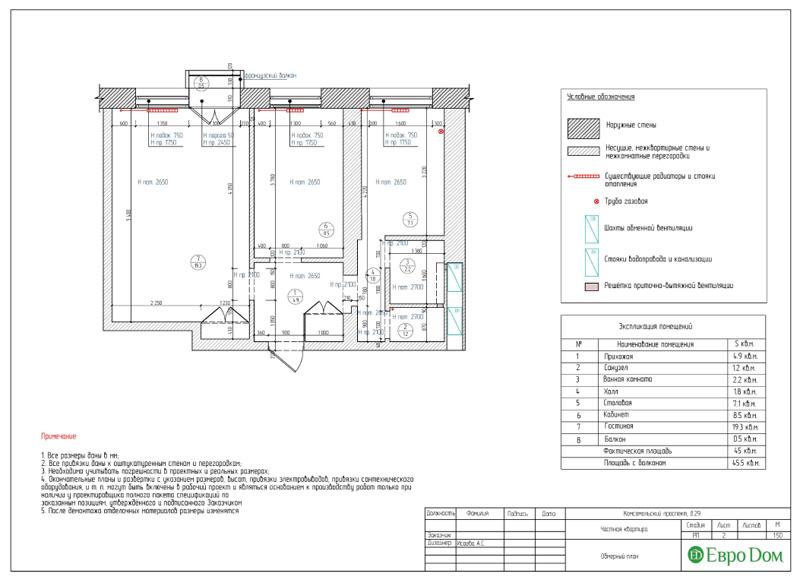Дизайн 2-комнатной квартиры в современном стиле. Фото 020