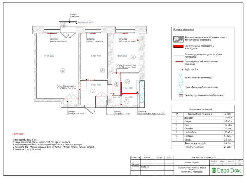 Дизайн 2-комнатной квартиры в современном стиле. Фото 021