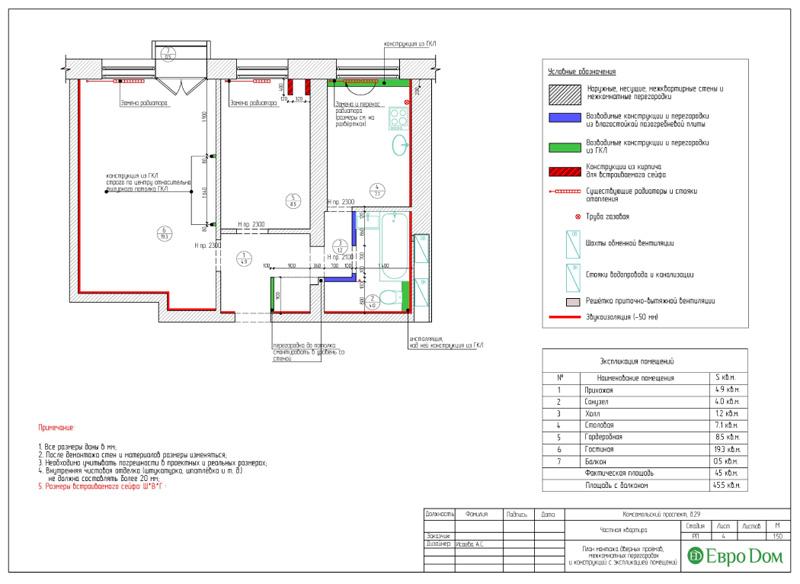 Дизайн 2-комнатной квартиры в современном стиле. Фото 022