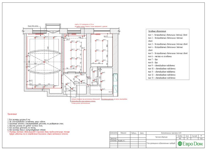 Дизайн 2-комнатной квартиры в современном стиле. Фото 028