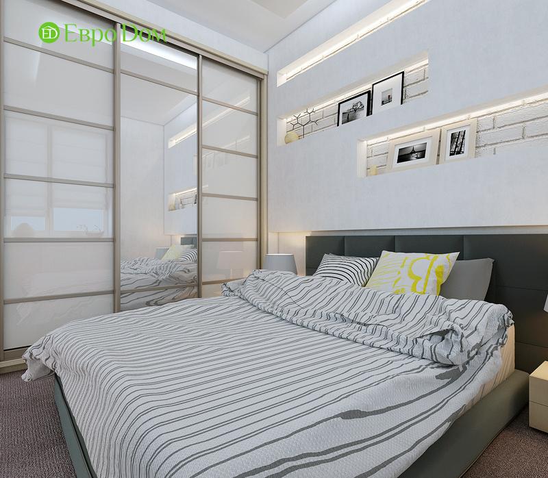 Дизайн двухкомнатной квартиры 52 кв. м в стиле лофт. Фото 09