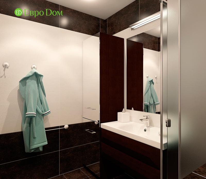 Дизайн двухкомнатной квартиры 52 кв. м в стиле лофт. Фото 013