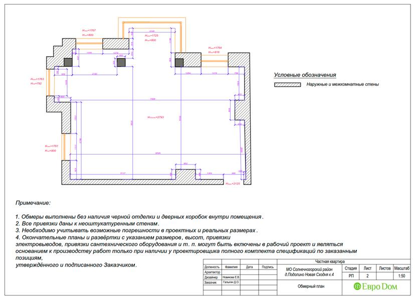 Дизайн двухкомнатной квартиры 52 кв. м в стиле лофт. Фото 020