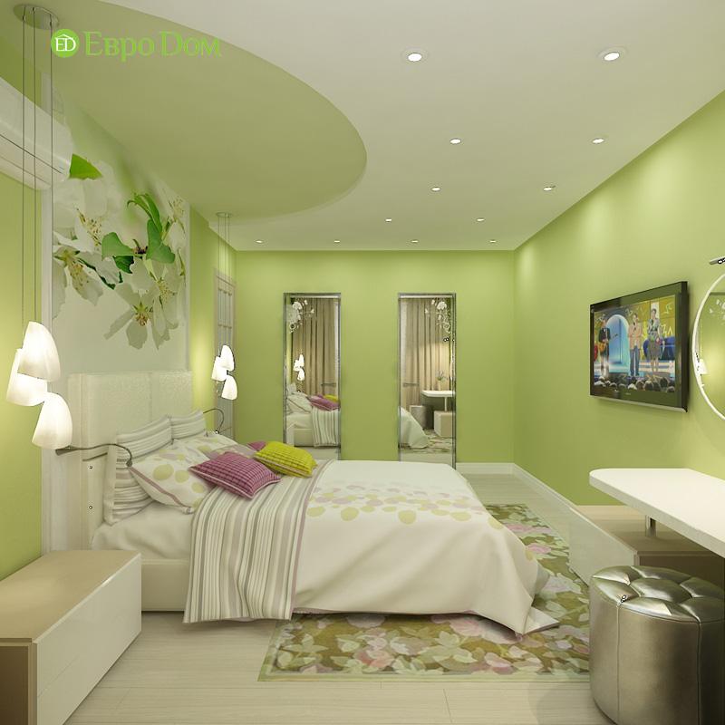 Дизайн 4-комнатной квартиры 200 кв. м в современном стиле. Фото 03
