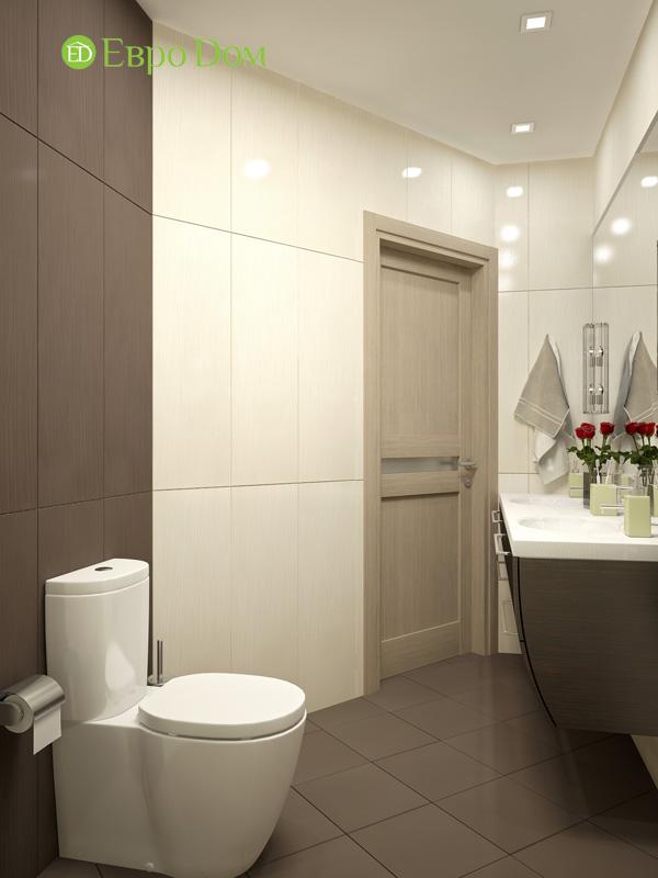 Дизайн 4-комнатной квартиры 200 кв. м в современном стиле. Фото 09