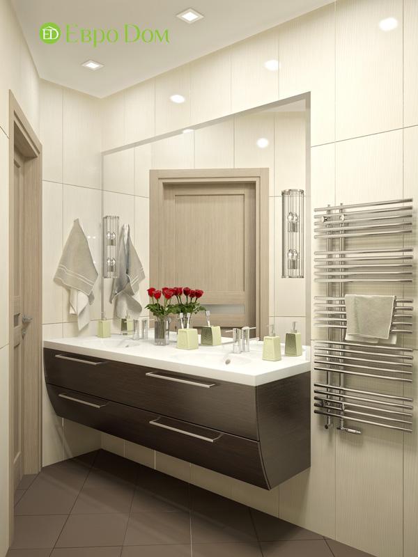 Дизайн 4-комнатной квартиры 200 кв. м в современном стиле. Фото 010