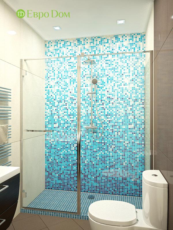 Дизайн 4-комнатной квартиры 200 кв. м в современном стиле. Фото 011