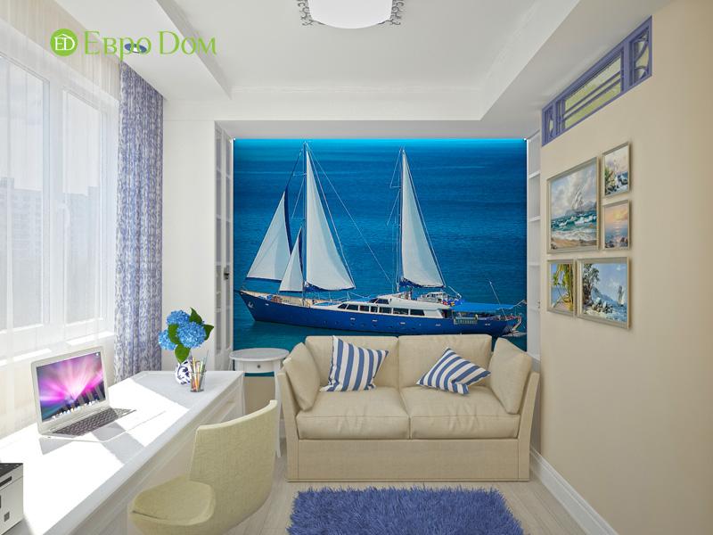 Дизайн 4-комнатной квартиры 200 кв. м в современном стиле. Фото 015