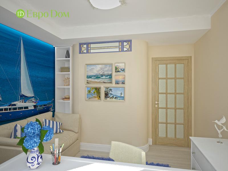 Дизайн 4-комнатной квартиры 200 кв. м в современном стиле. Фото 016