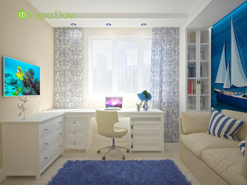 Дизайн 4-комнатной квартиры 200 кв. м в современном стиле. Фото 017