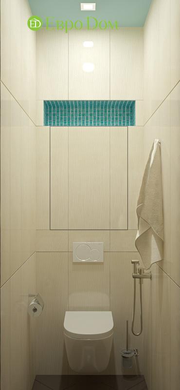 Дизайн 4-комнатной квартиры 200 кв. м в современном стиле. Фото 018