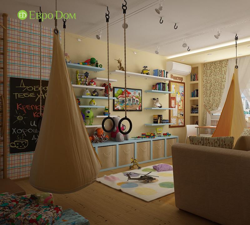 Дизайн 4-комнатной квартиры 200 кв. м в современном стиле. Фото 023