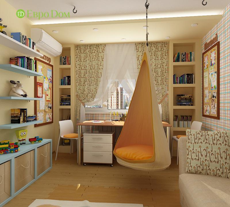 Дизайн 4-комнатной квартиры 200 кв. м в современном стиле. Фото 025