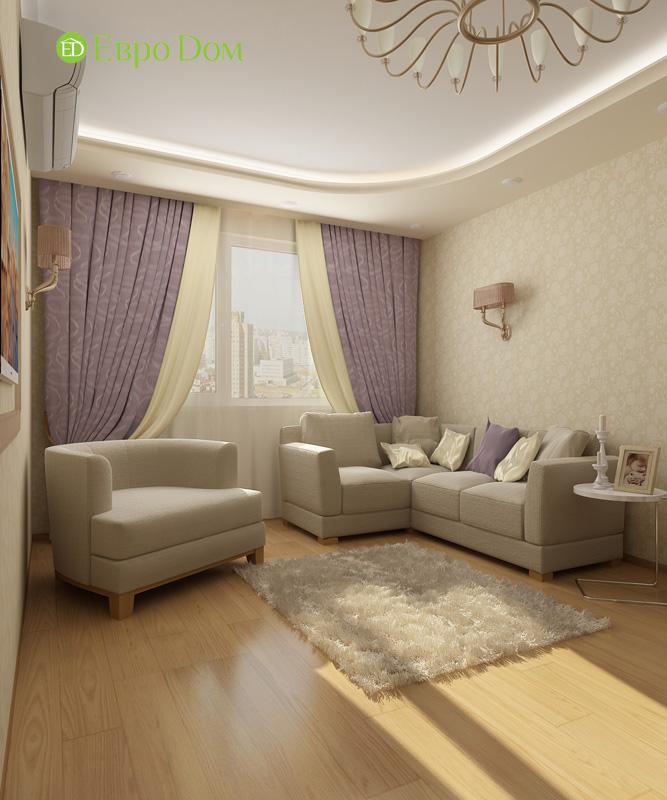 Дизайн 4-комнатной квартиры 200 кв. м в современном стиле. Фото 027