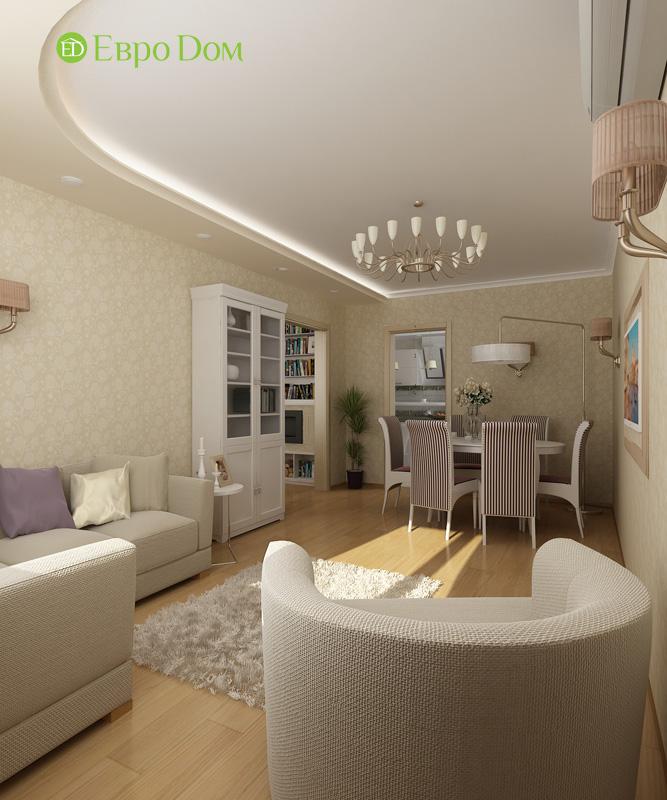 Дизайн 4-комнатной квартиры 200 кв. м в современном стиле. Фото 029