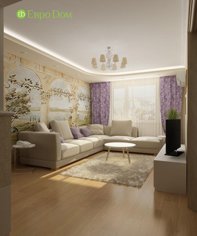 Дизайн 4-комнатной квартиры 200 кв. м в современном стиле. Фото 030