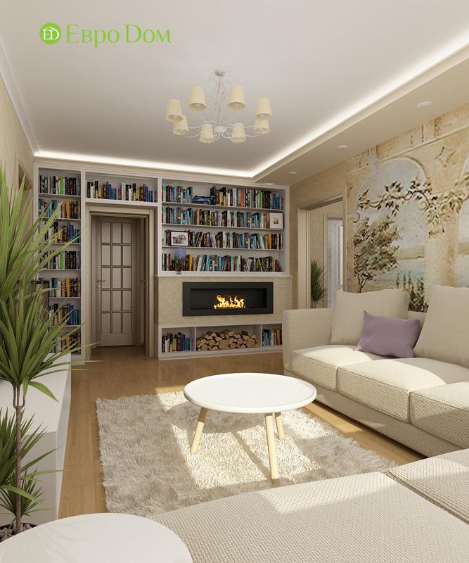 Дизайн 4-комнатной квартиры 200 кв. м в современном стиле. Фото 032