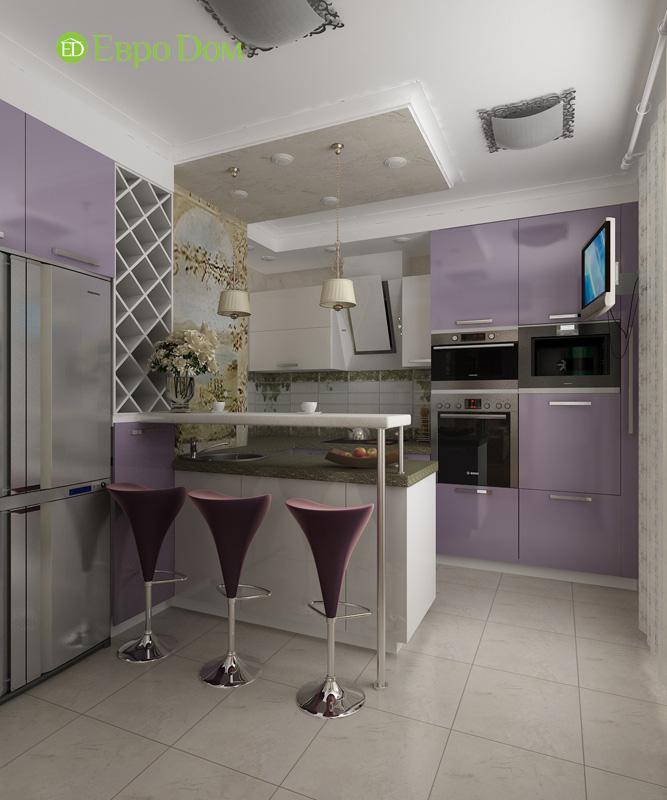 Дизайн 4-комнатной квартиры 200 кв. м в современном стиле. Фото 033