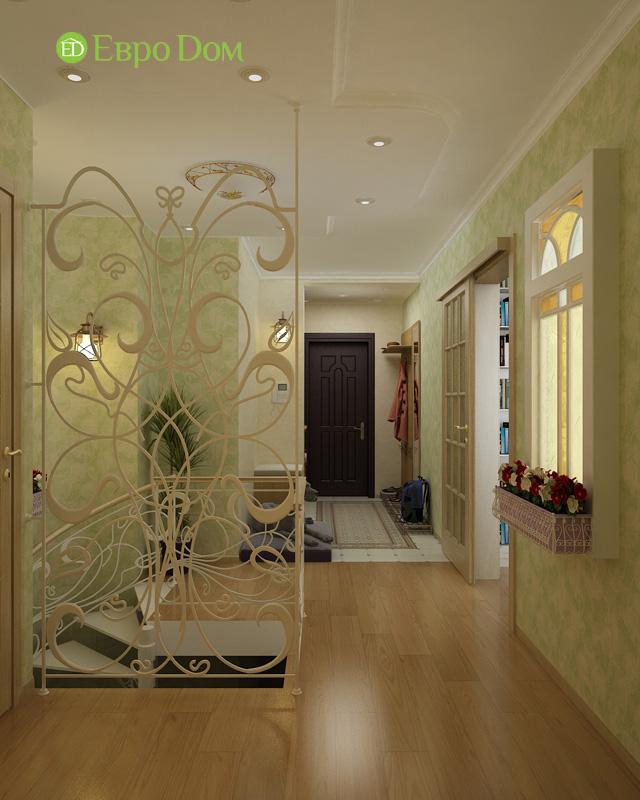 Дизайн 4-комнатной квартиры 200 кв. м в современном стиле. Фото 042