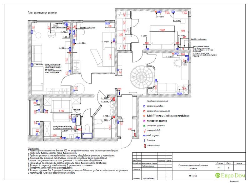 Дизайн 4-комнатной квартиры 200 кв. м в современном стиле. Фото 051