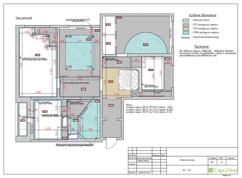 Дизайн 4-комнатной квартиры 200 кв. м в современном стиле. Фото 058
