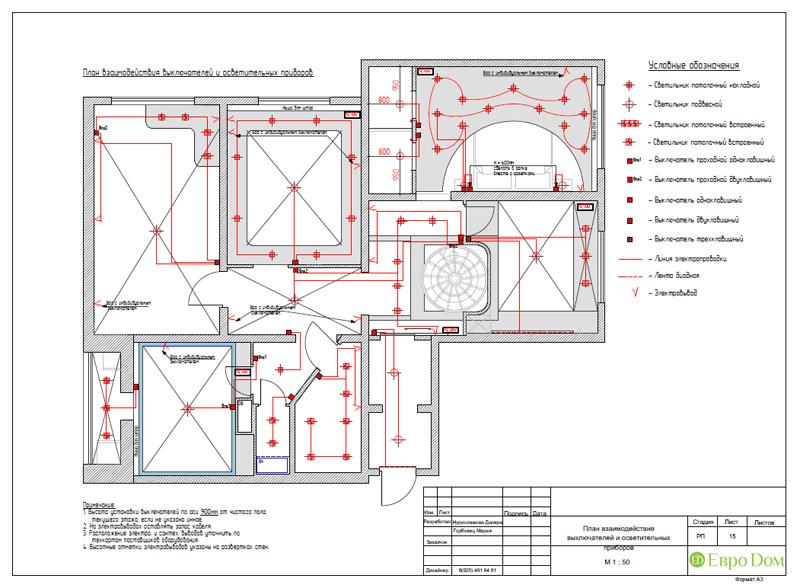 Дизайн 4-комнатной квартиры 200 кв. м в современном стиле. Фото 060