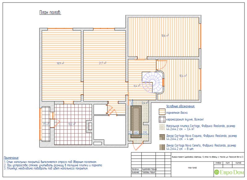 Дизайн 4-комнатной квартиры 200 кв. м в современном стиле. Фото 074