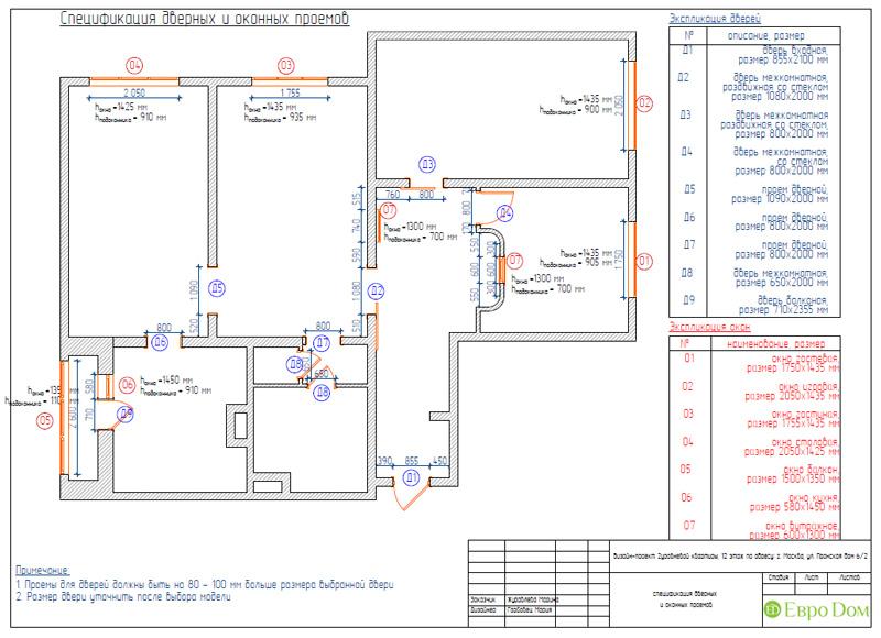 Дизайн 4-комнатной квартиры 200 кв. м в современном стиле. Фото 077