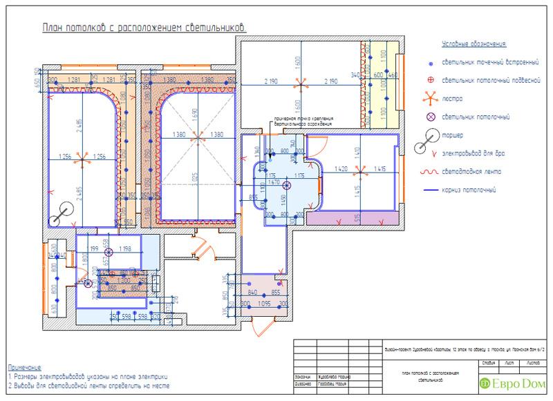 Дизайн 4-комнатной квартиры 200 кв. м в современном стиле. Фото 080