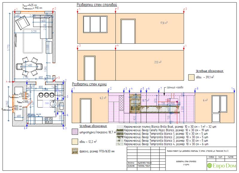 Дизайн 4-комнатной квартиры 200 кв. м в современном стиле. Фото 085