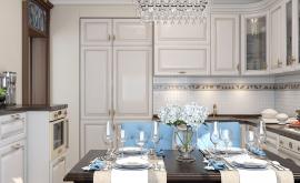 Дизайн интерьера четырехкомнатной квартиры 74 кв.м. по адресу Москва, Свободный проспект, д. 11, корп. 5. Фото 2
