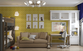 Дизайн интерьера четырехкомнатной квартиры 74 кв.м. по адресу Москва, Свободный проспект, д. 11, корп. 5. Фото 4