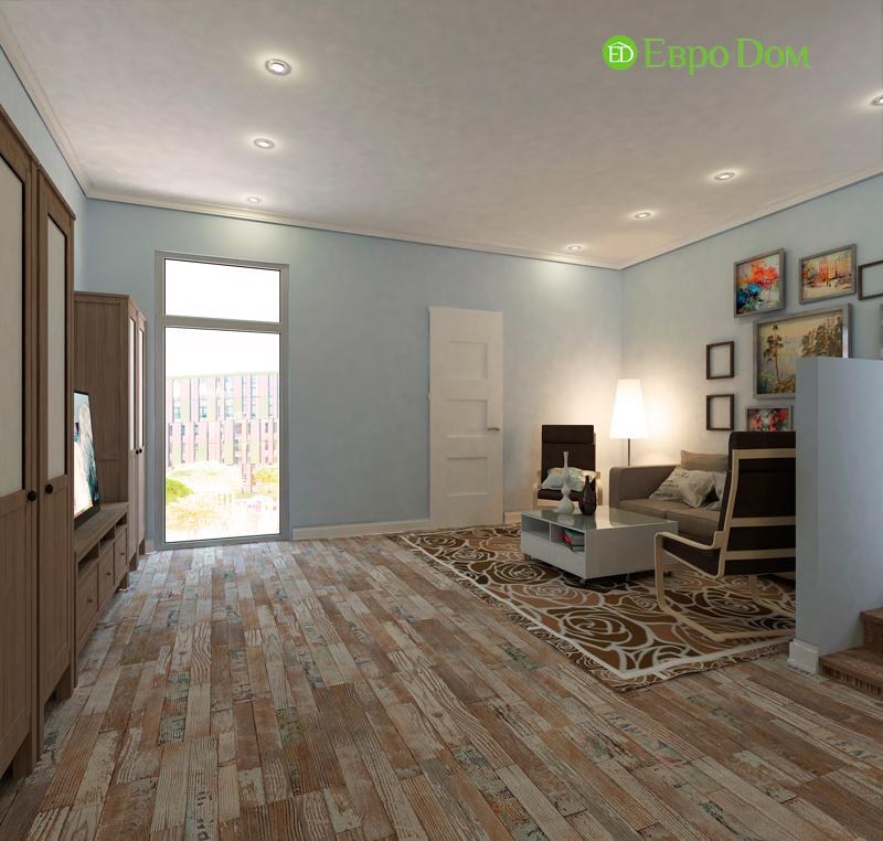Дизайн 4-комнатной квартиры в скандинавском стиле. Фото 06