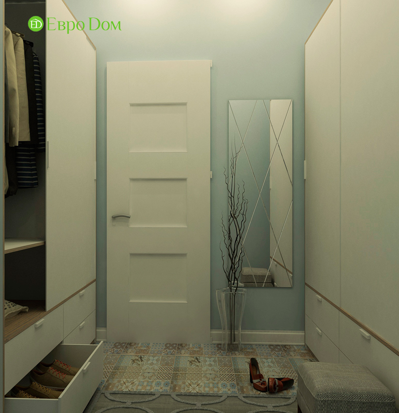 Дизайн 4-комнатной квартиры в скандинавском стиле. Фото 08