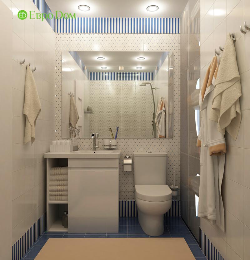 Дизайн 4-комнатной квартиры в скандинавском стиле. Фото 012