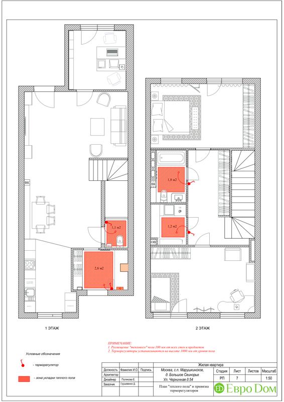 Дизайн 4-комнатной квартиры в скандинавском стиле. Фото 019