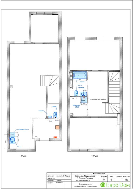 Дизайн 4-комнатной квартиры в скандинавском стиле. Фото 022