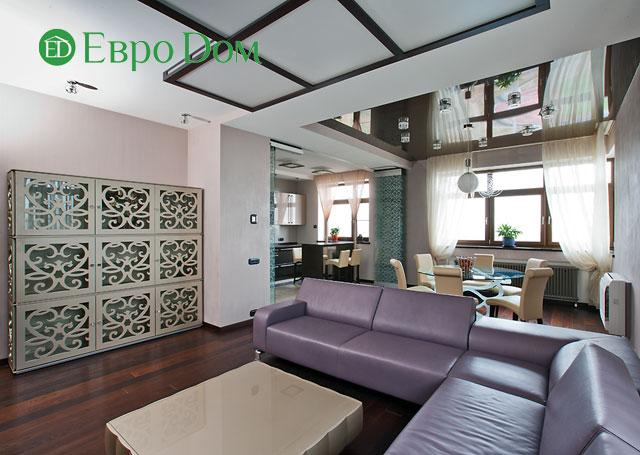 Дизайн интерьера 4-комнатной квартиры в современном стиле. Фото 07